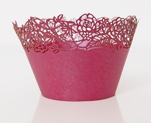 Košíček na muffin, cup cake B - purpurová - 12ks