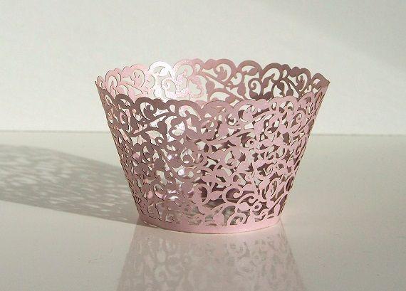Košíček na muffin, cup cake - světlá lila - 12ks