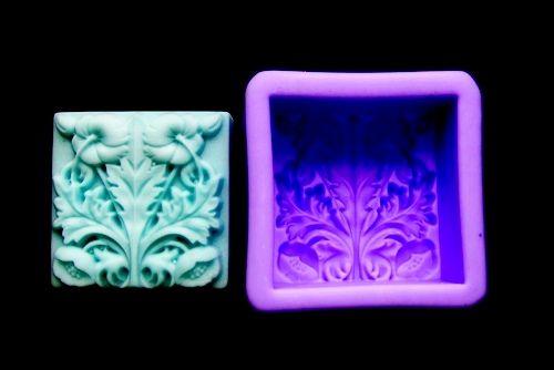 Silikonová formička - makové květy