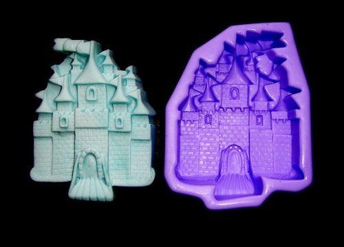 Silikonová formička - hrad