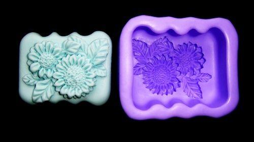Silikonová formička - květ